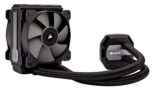 Corsair Hydro H80i V2 RGB Wasserkühlung (120mm Lüfter, All-In-One High Performance CPU) für Mini ITX