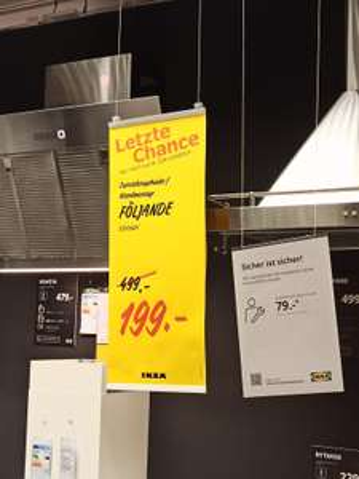 Dunstabzug Ikea FÖLJANDE - Lokal Osnabrück
