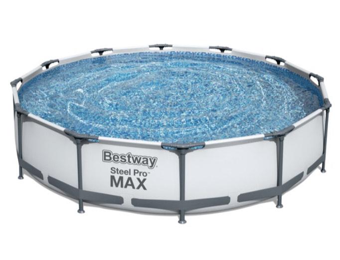 Bestway Frame Pool Steel Pro Max 366 x 76 cm + Pumpe