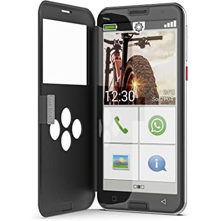 Emporia Smart 5 - Seniorensmartphone inklusive 60 Tage Geld Zurück Garantie