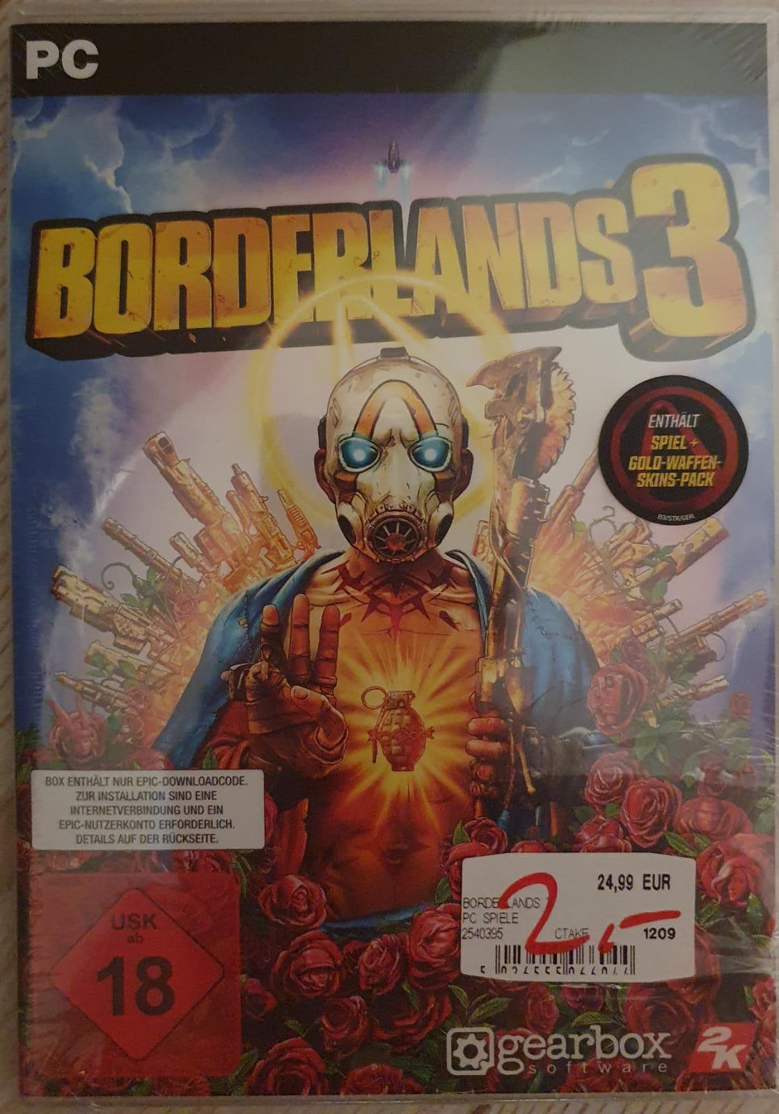 [LOKAL BUXTEHUDE] MediaMarkt Borderlands 3 | PS4 / PC] 2€