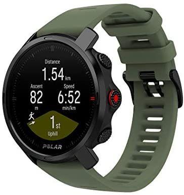 Polar Grit X – Robuste Outdoor-GPS-Uhr, 100m wasserdicht, 80 -100 Std. Akku, Farbe Grey/Green und Schwarz, M/L [sportler.com]