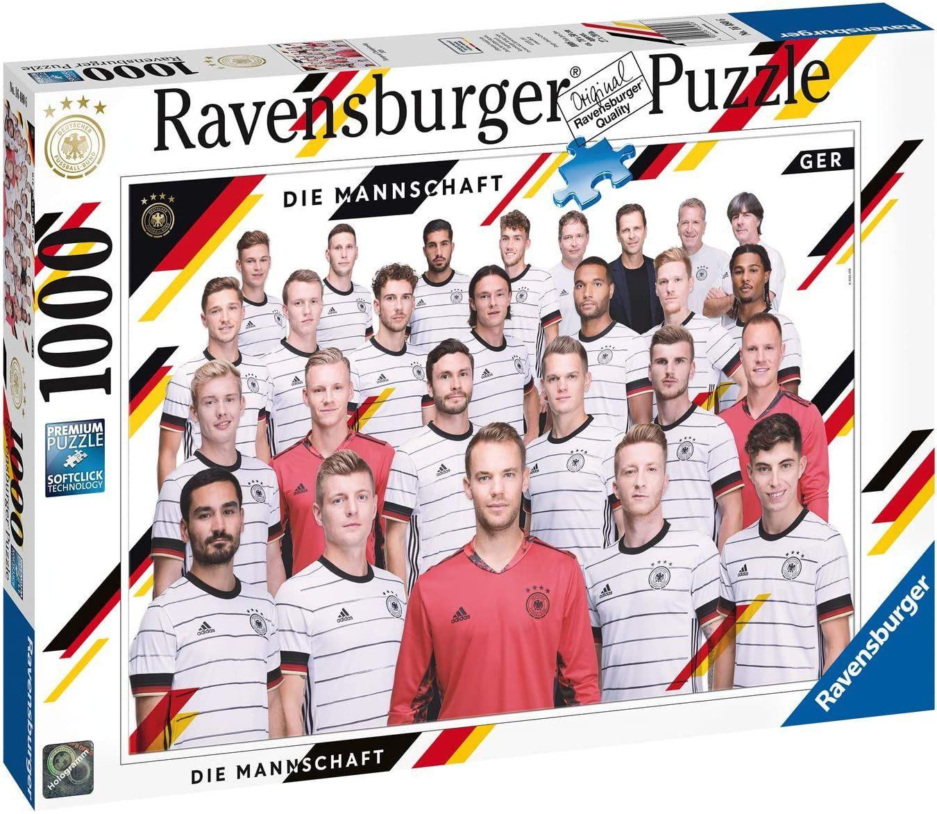 [Amazon UK] Spielzeug Brettspiele Sammeldeal (33), z.B. Ravensburger Die Mannschaft Puzzle 1000 Teile