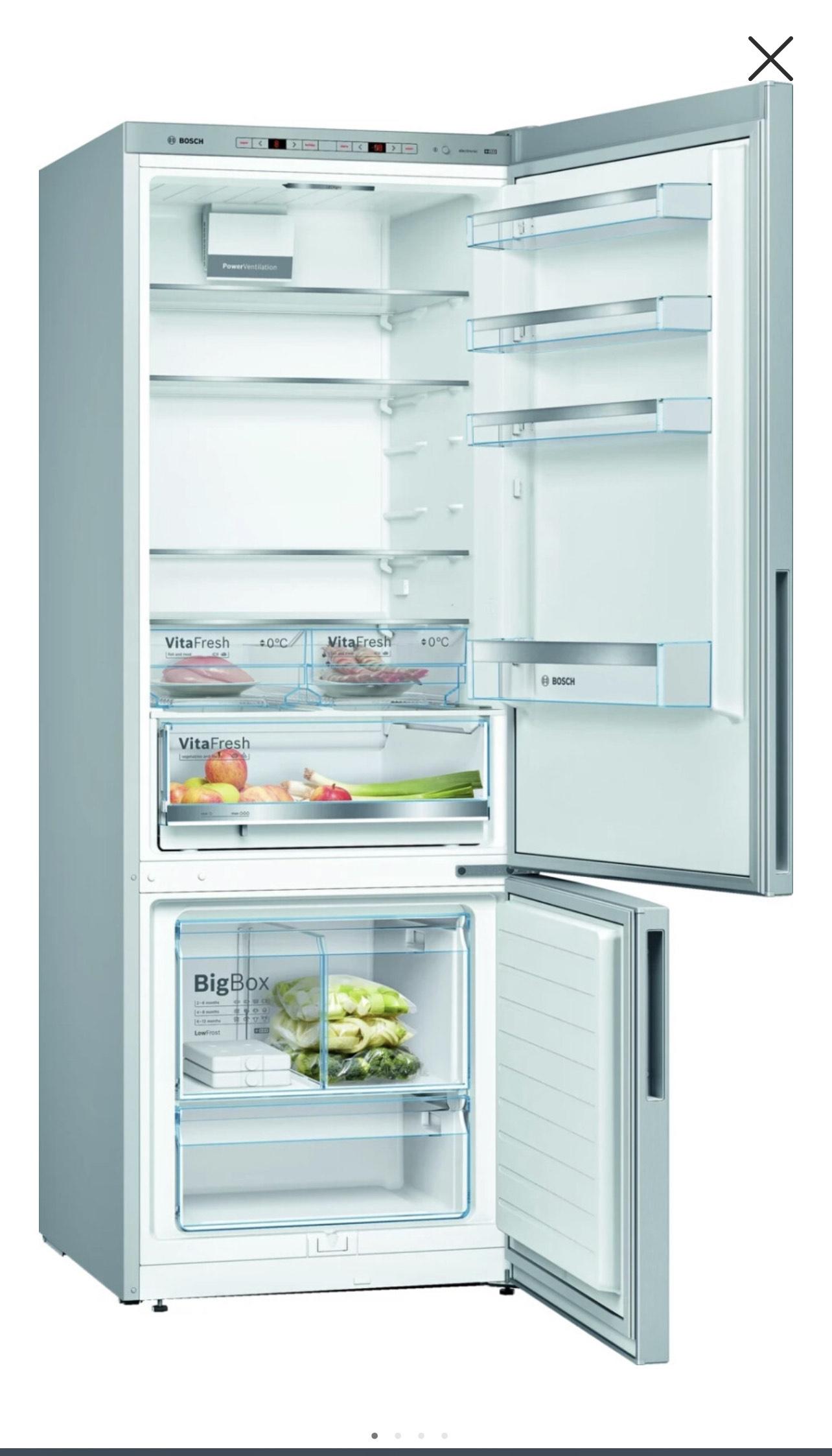 Bosch KGE584ICP Serie 6 Kühlgefrierkombination für 499€ (statt 699€) + 90€ Eismann.de Gutschein!