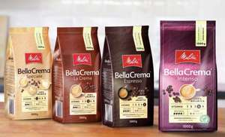 [Penny] Melitta Kaffeebohnen 1kg Bella Crema diverse Sorten 1€ Sparen