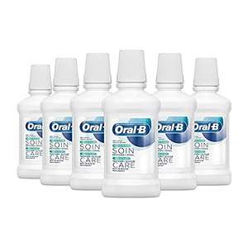 Oral-B Zahnfleisch & -schmelz Repair Mundspülung Frische Minze,6-er Pack, 6x250 ml