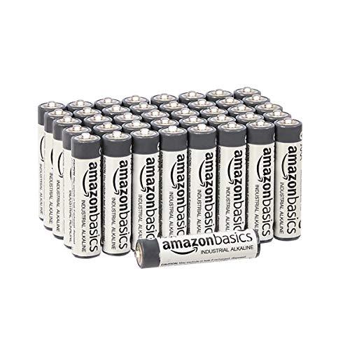 40x Amazon Basics AAA Alkalibatterien