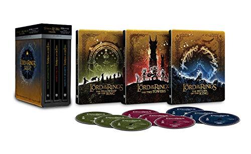 Herr der Ringe Trilogie STEELBOOK Edition 4k Ultra HD Blu-Ray * EXTENDED Editionen mit deutschen Ton