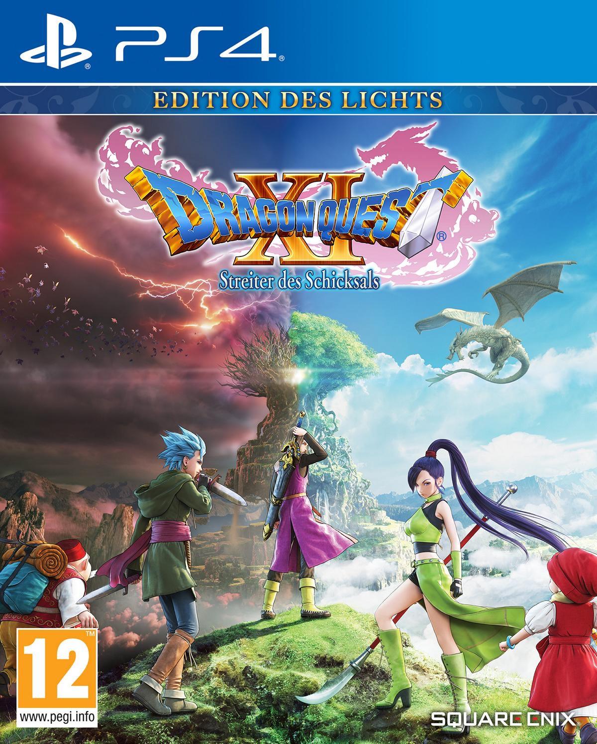 Dragon Quest XI: Streiter des Schicksals Edition des Lichts (PS4) für 11,83€ + Vsk / Soulcalibur VI für 8,24€ + Vsk