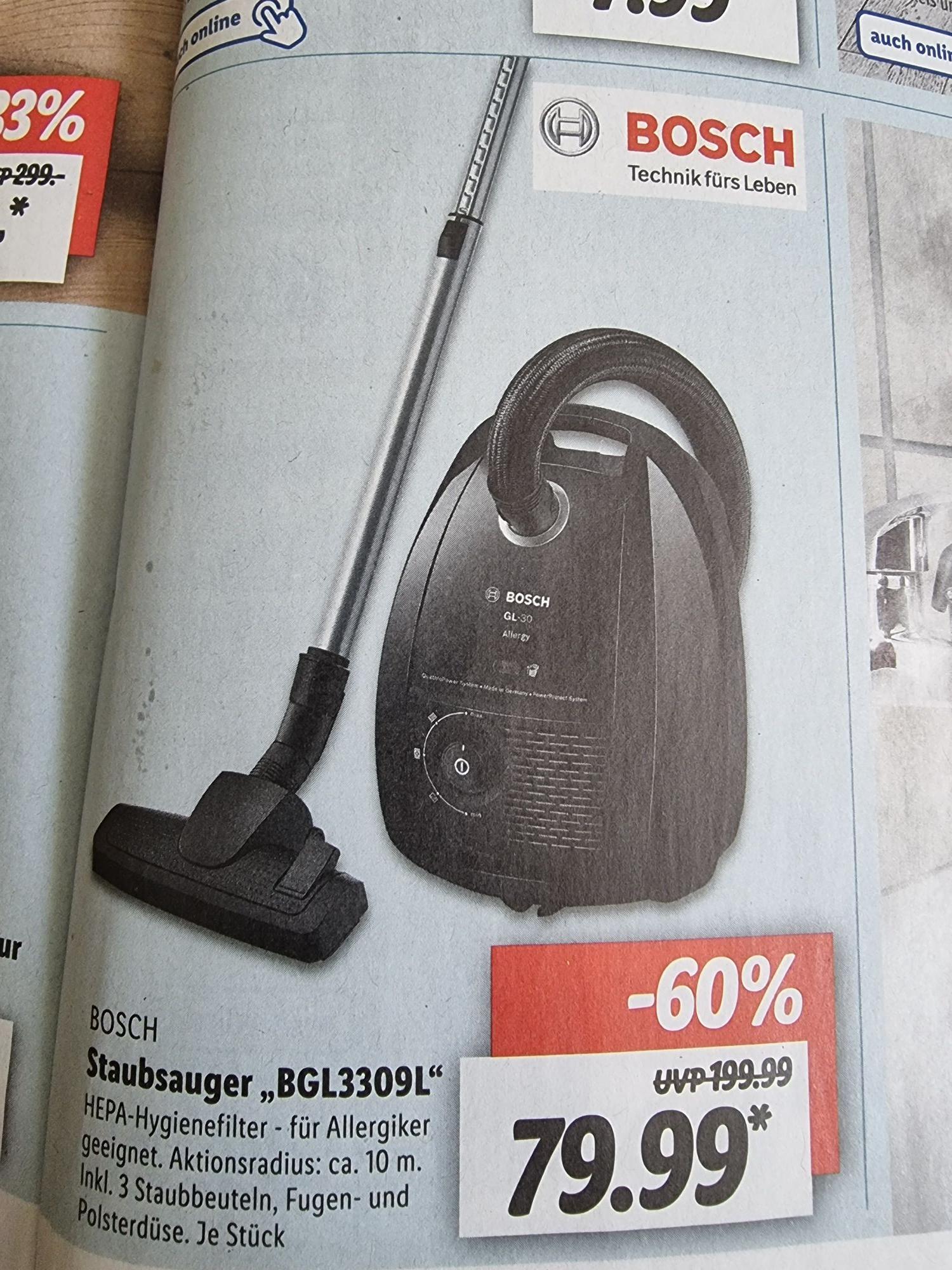 Bosch Staubsauger LIDL