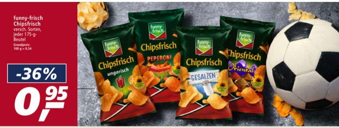 funny-frisch Chipsfrisch je 175 g verschiedene Sorten ab 14.06 Real