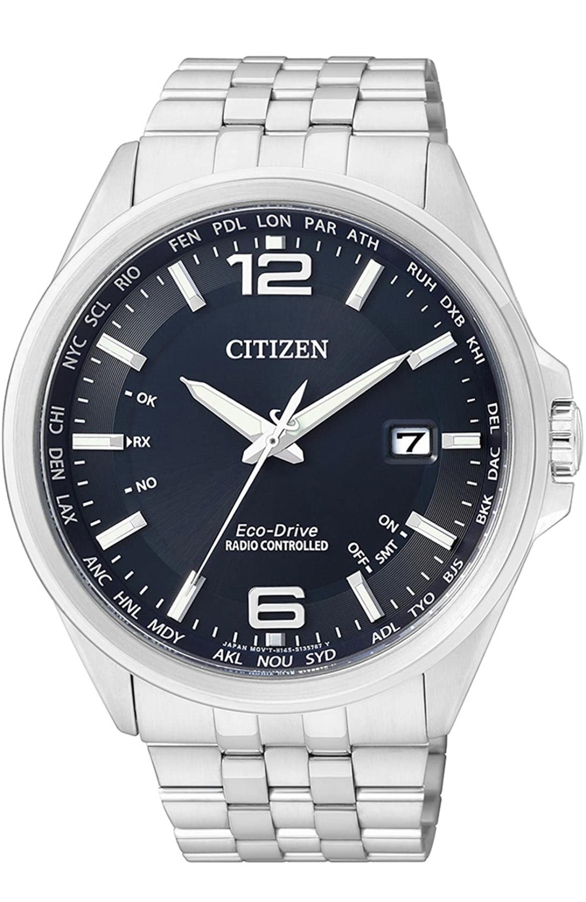 Citizen CB0010-88L - Blau - Herren - Funk - Eco Drive