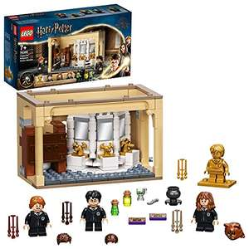 [Amazon Prime] LEGO 76386 Harry Potter Hogwarts: Misslungener Vielsaft-Trank Set zum 20. Jubiläum mit Harry als goldene Minifigur