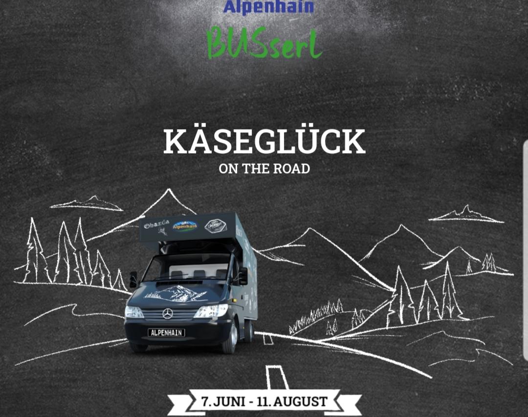 """Gratis Snacks """"to go"""" bei der Käseglück On The Road Streetfood Tour von Alpenhain"""