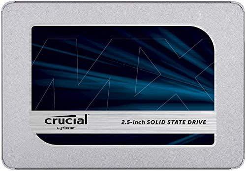 Crucial MX500 SSD - 500 GB - TLC 3D - DRAM - Frustration Free Pack & Standard Édition - Amazon