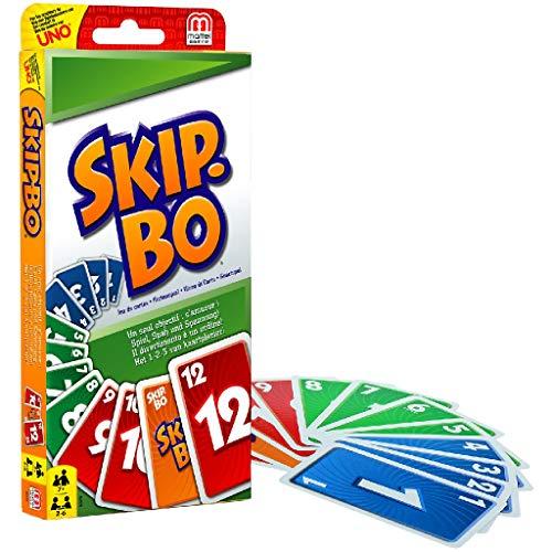 Skip-Bo Kartenspiel für 2-6 Spieler [Prime]