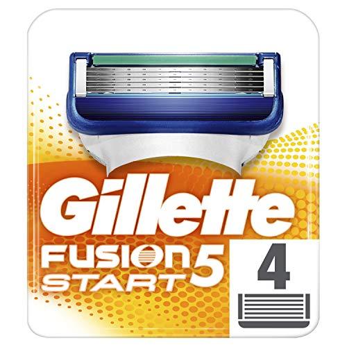[personalisiert] 4er Pack Gilette Fusion 5 Rasierklingen