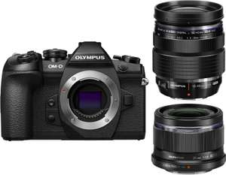 Olympus OM-D E-M1 Mark II Systemkamera + M.Zuiko digital ED 12-40mm f2.8 & M.Zuiko Digital 25mm f1.8 Objektiv (MFT, 20.4MP, 4K-Video)