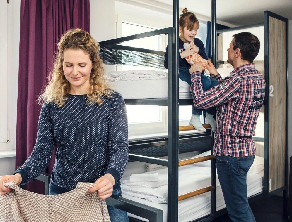 Gutschein für 2 Nächte in einem von 36 a&o Hotels im Doppel- oder Familienzimmer // 3 Jahre gültig