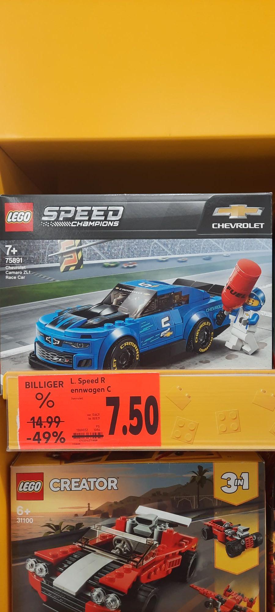 [LOKAL - Dallgow Döberitz] LEGO Speedchampions Chevrolet Camaro ZL1 (75891)