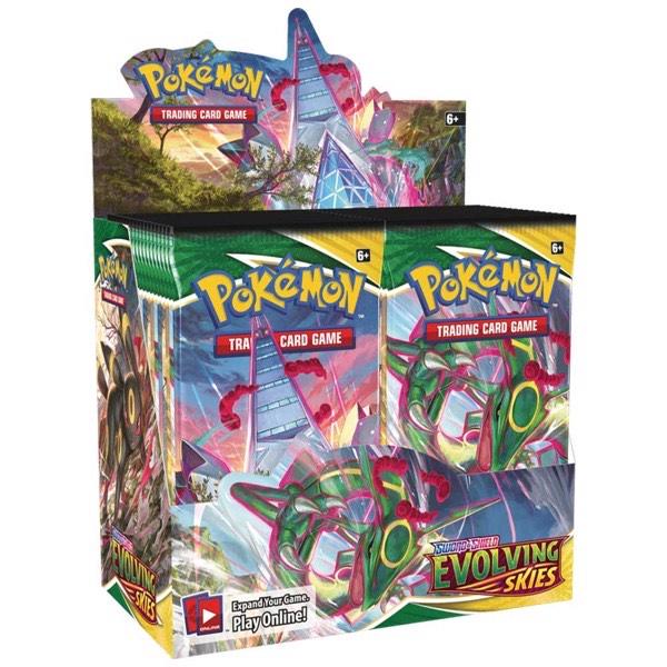 Preorder Pokémon Evolving Skies Display Case