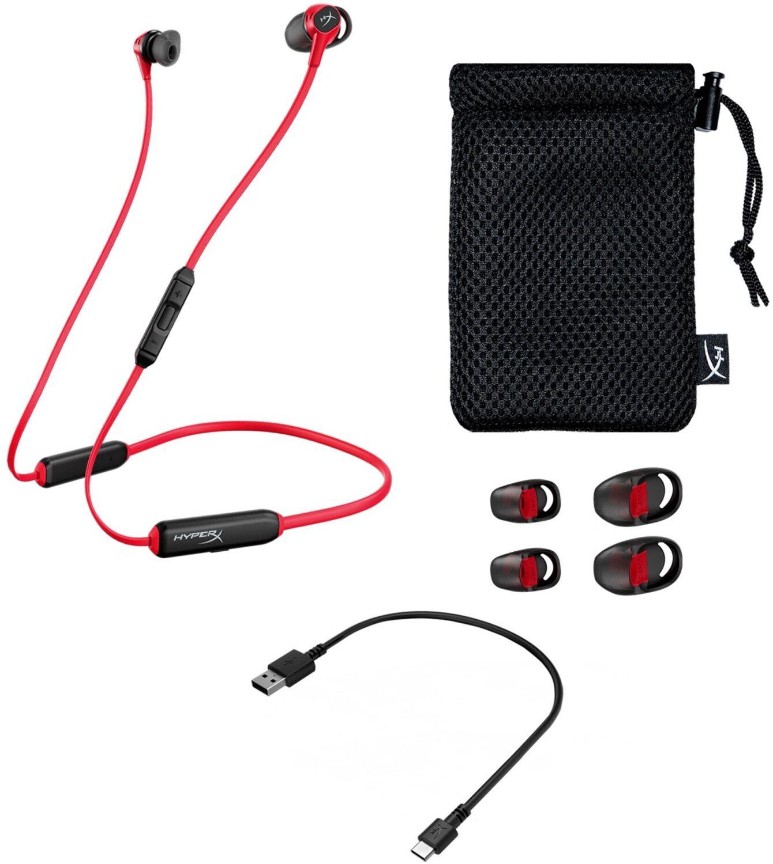 HYPERX HyperX Cloud Buds, In-ear Kopfhörer Bluetooth Schwarz/Rot [Saturn & Mediamarkt Abholung]