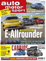 Auto Motor Sport Abo (31 Ausgaben) für 124,30 € mit 110 € BestChoice-Universalgutschein/ 120 € OTTO-Gutschein