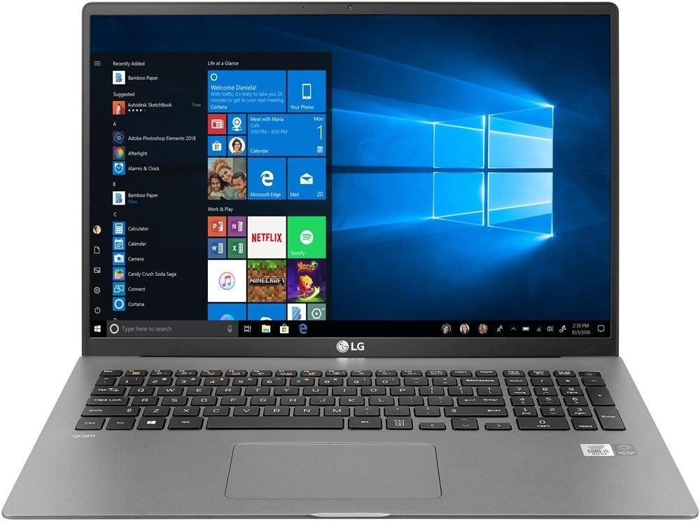 """LG gram 17 (17.3"""", 2560x1600, IPS, i7-1065G7, 16GB/1TB, TB3, 3x USB-A, HDMI, microSD, Wi-Fi 6, 80Wh, Win10, 1.35kg)"""