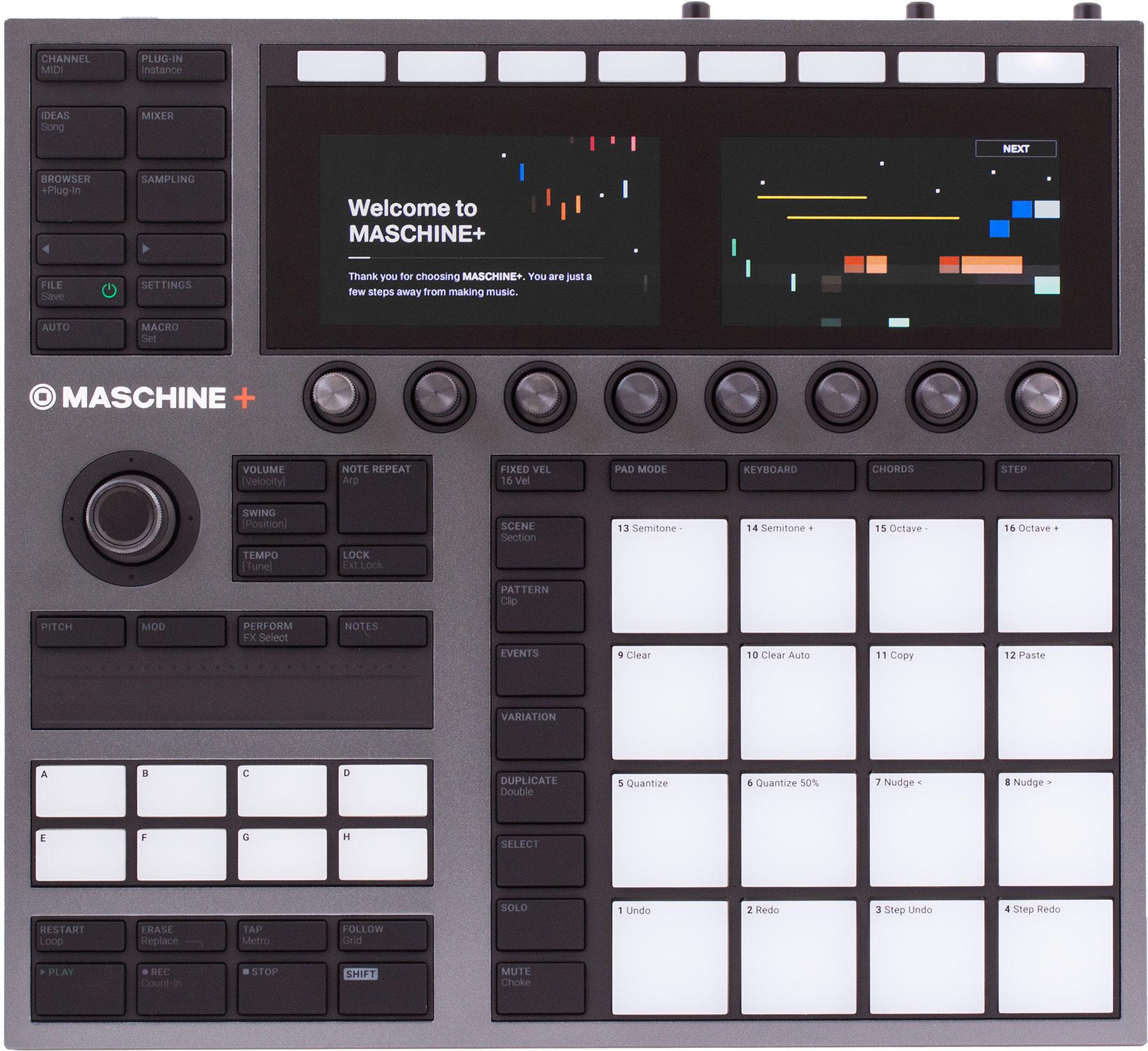 Native Instruments Maschine+ [Musikinstrumente]