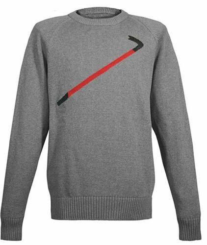 Musterbrand Half-Life Strick Pullover Herren Crowbar grau (Größen XS bis XXL)
