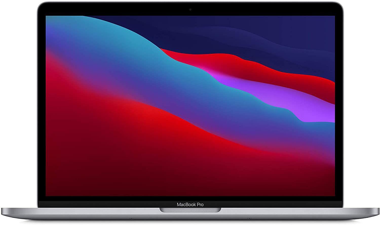 "Apple MacBook Pro (2020) M1-Chip (512GB SSD, 8GB RAM, 13,3"" Retina Display, MacOS Big Sur) Space Grey [IT-Layout]"