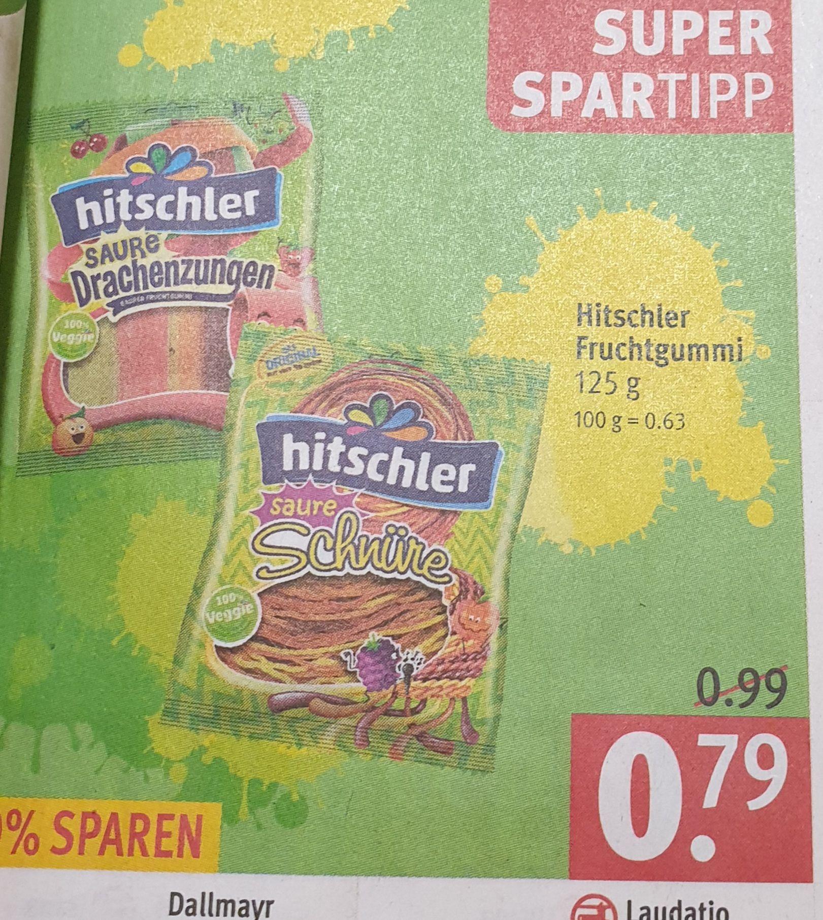 [Rossmann] Hitschler Fruchtgummi für 0,71€ mit 10%-Rossmann Coupon