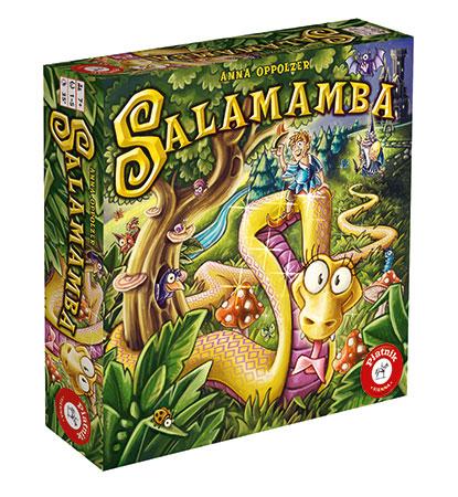 Kooperatives Kinderspiel (Brettspiel) Salamamba, ab 6 Jahren