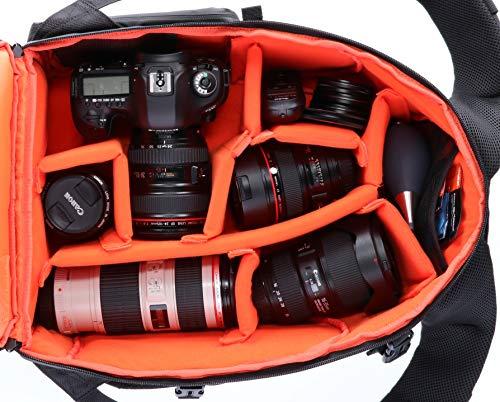 Rollei Fotoliner Fotorucksack- Serie, zB M für 42,50€, L für 58,65€, Grau für 35€