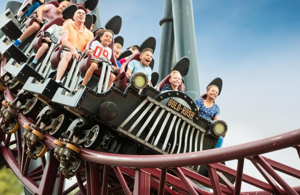Eintrittskarte für den Freizeitpark Slagharen, gültig für das gesamte Jahr 2021