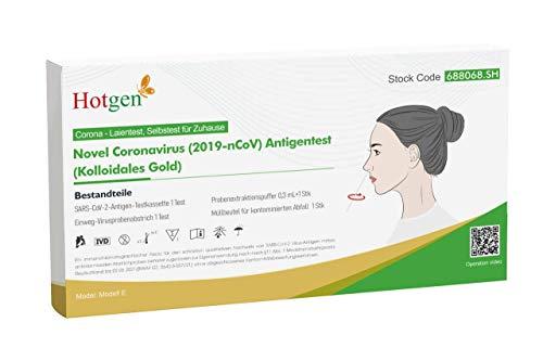[Amazon Prime] Hotgen Corona Schnelltest Selbsttest 0,72€ pro Stück bei Abnahme von 4
