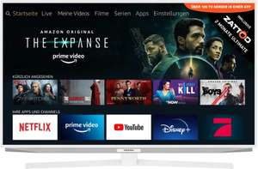 Grundig 65GUW7040 4K Ultra HD LED TV (65 Zoll) 499€