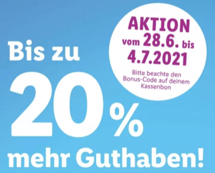 Lidl: Bis zu 20% (!) zusätzliches Guthaben für iTunes & App Store Geschenkkarten - 25€, 50€ u. 100€ - ab 28.06.