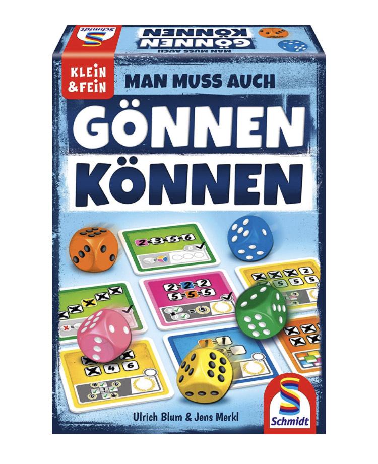 Schmidt Spiele: Gönnen können, Würfelspiel aus der Serie Klein & Fein, bunt [Prime]