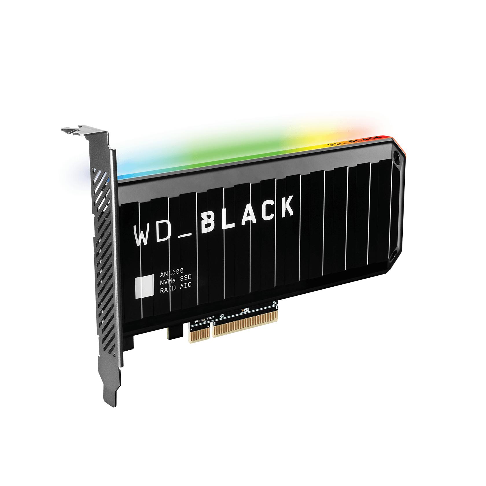 WD_BLACK AN1500 NVMe 2TB SSD Add-In-Card