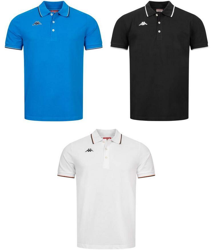 Kappa Herren Polo-Shirt Woffen für 10,10€ + 3,95€ VSK (100% Baumwolle, Größe M - XXL, 3 Farben verfügbar) [SportSpar]