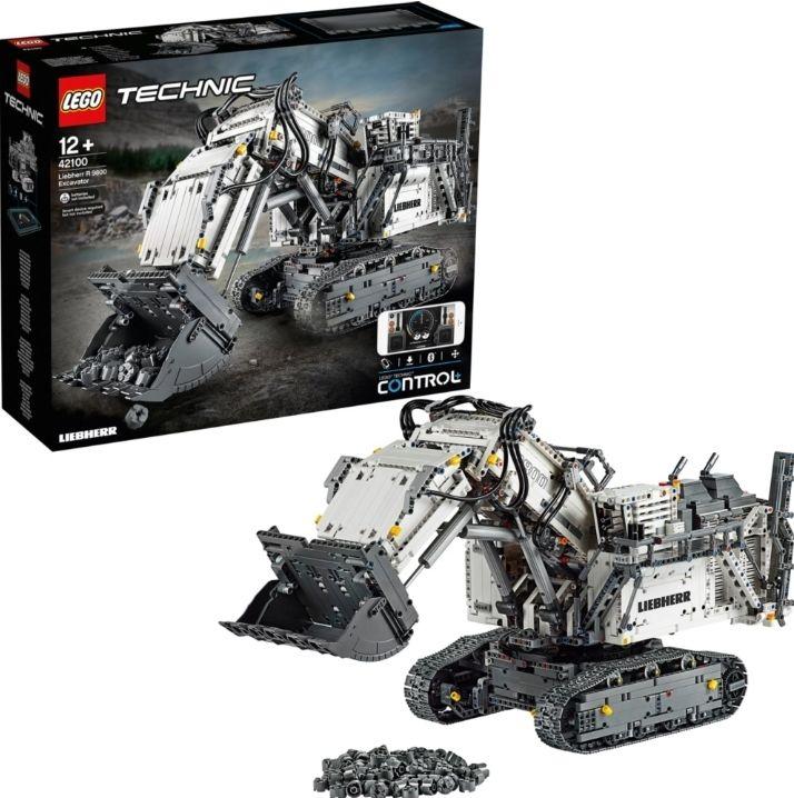 [MyToys] LEGO® Technic 42100 Liebherr Bagger R 9800
