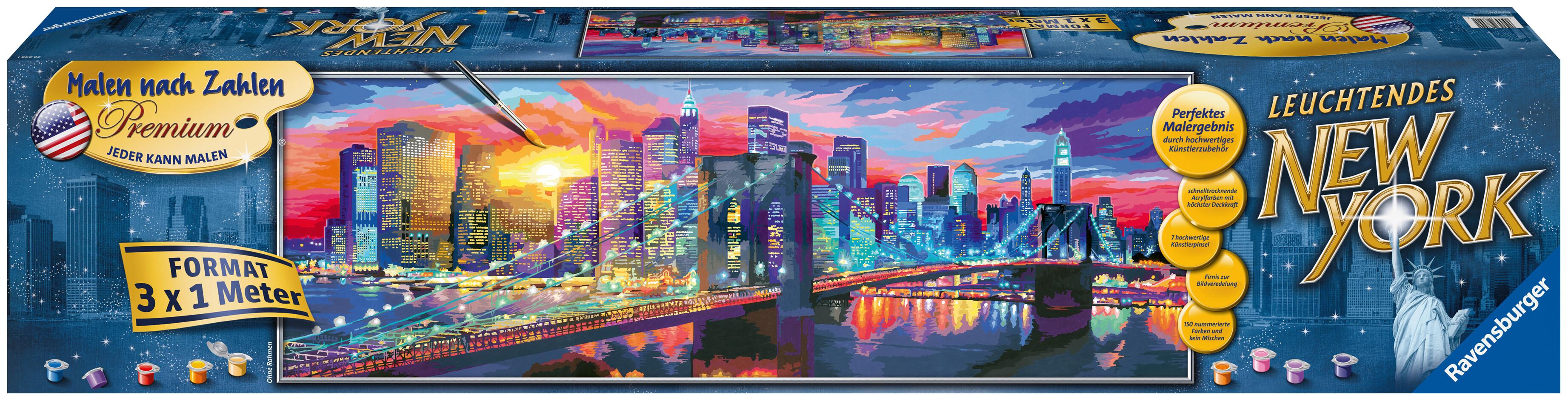 [Hugendubel.de] Malen nach Zahlen Leuchtendes New York (300x100cm) zum Bestpreis