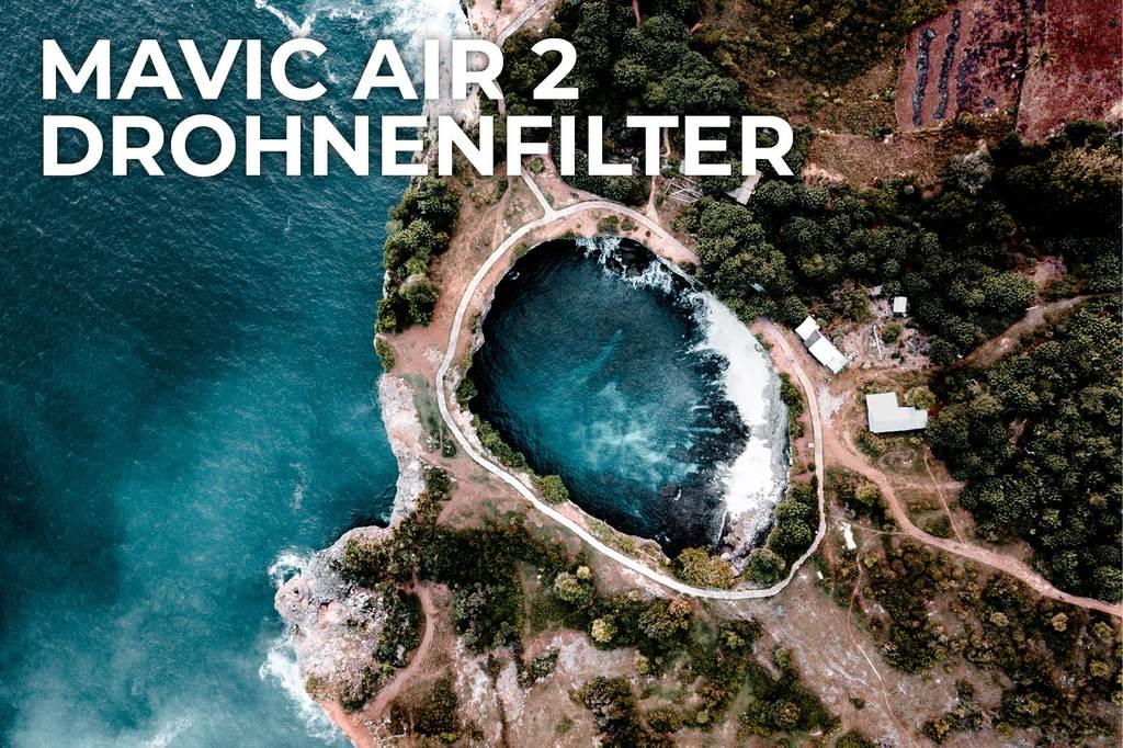 Rollei Drohnenfilter Glas ND GND für DJI Mavic Mini, Mini 2, Air 2, 2 Zoom - geringe Verfügbarkeit