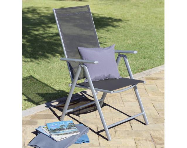 [POCO] Gartenstuhl/Klappsessel Palau für 22€ zzgl. 6,50€ Versand oder Abholung (Rückenlehne 7-fach verstellbar, max. 120kg)