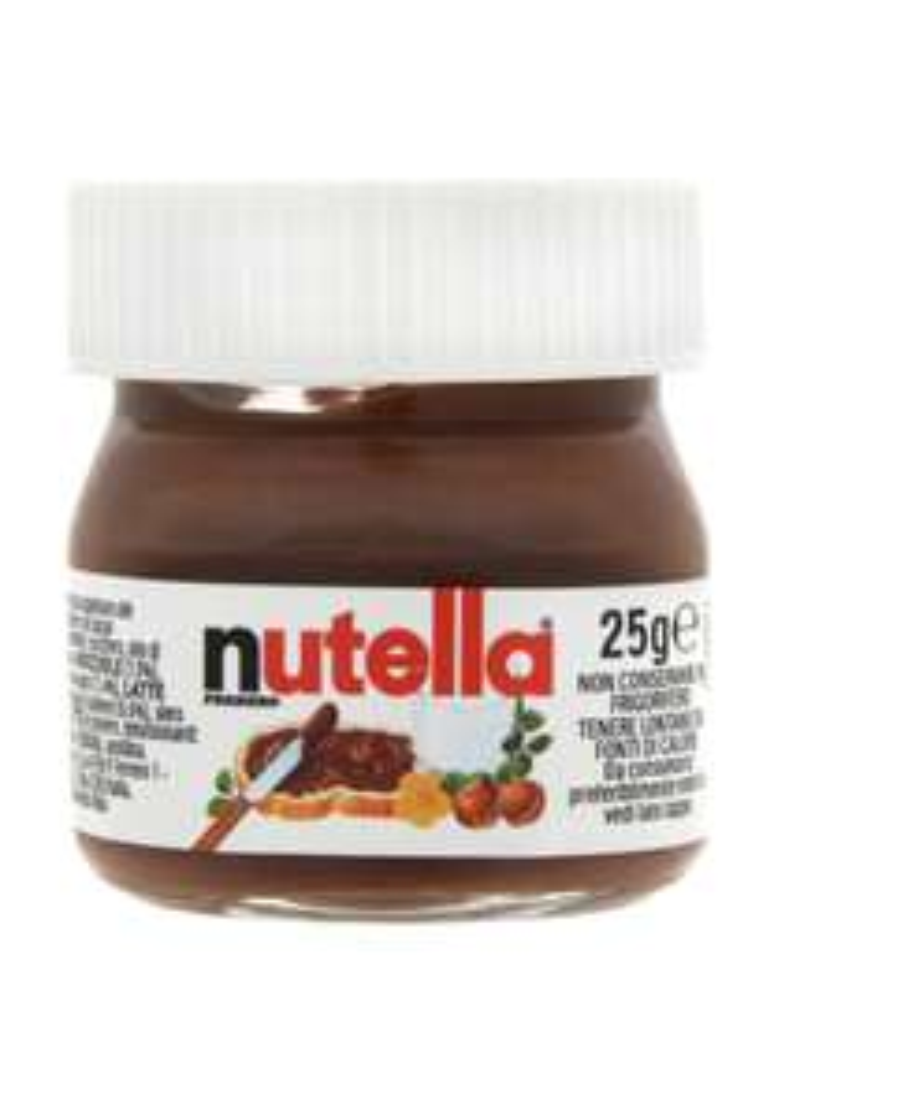 [MHD 10.11.21] Nutella Mini Glas 25g 64 Stück