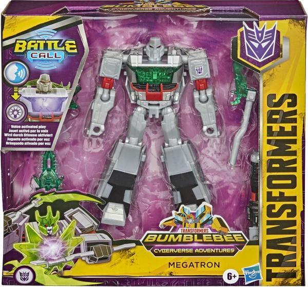 Hasbro Transformers Bumblebee Cyberverse Adventures Trooper-Klasse Megatron, 14cm Figur für 12,42€ (Thalia Kultklub)