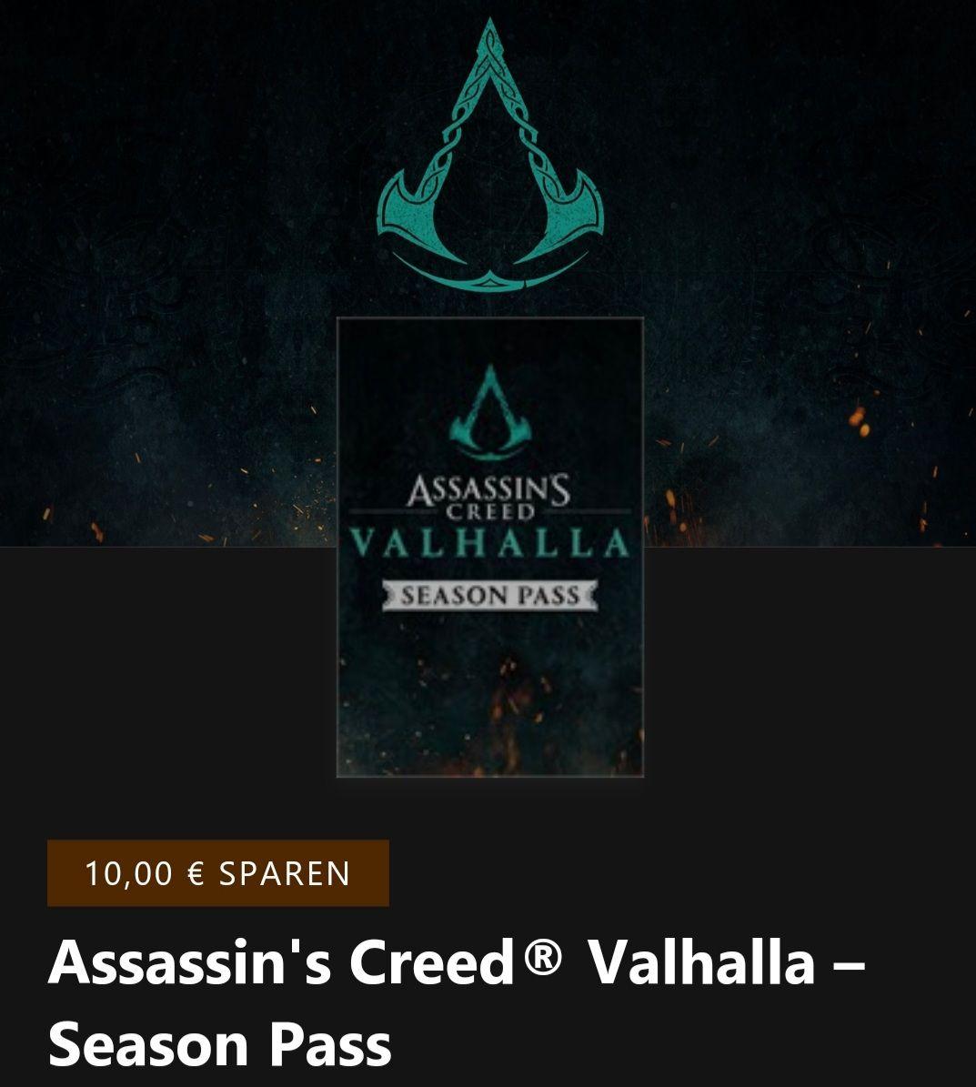 Assassins Creed Valhalla Season Pass (Xbox Series S/X)