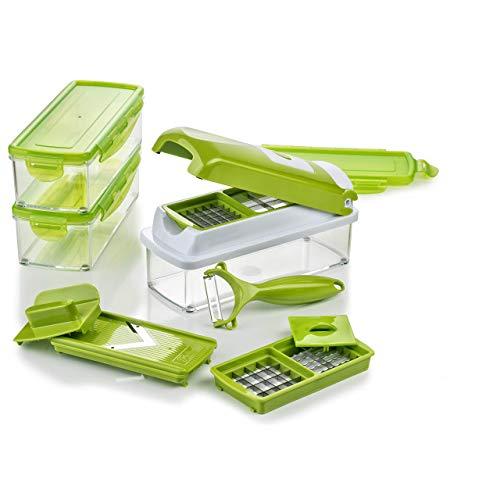 Genius Nicer Dicer Smart 13-teiliges Gemüseschneider-Set