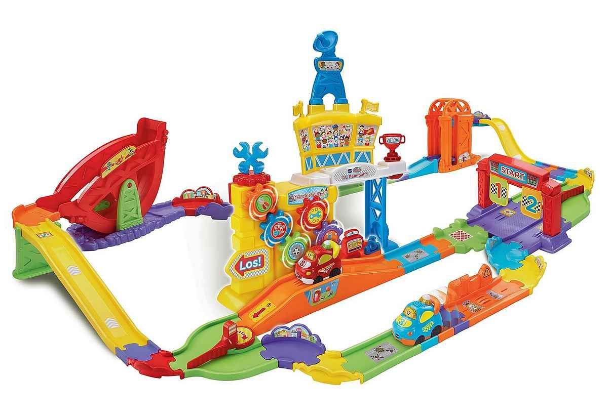 Vtech® Autorennbahn »Tut Tut Baby Flitzer RC Rennbahn« [Otto Lieferflat]
